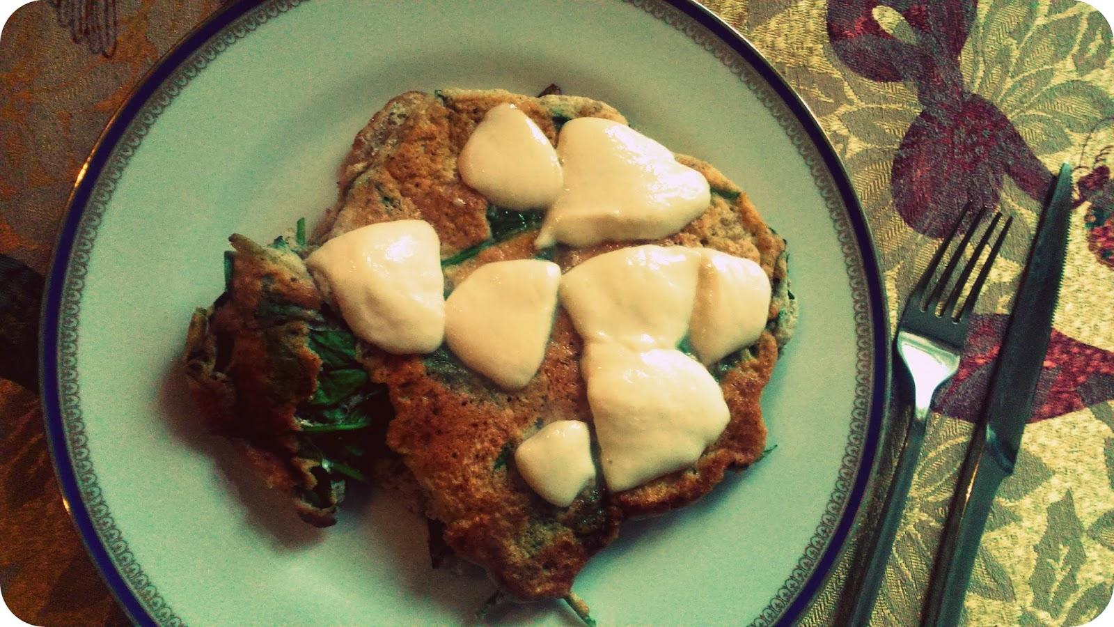 Szpinakowy omlet !