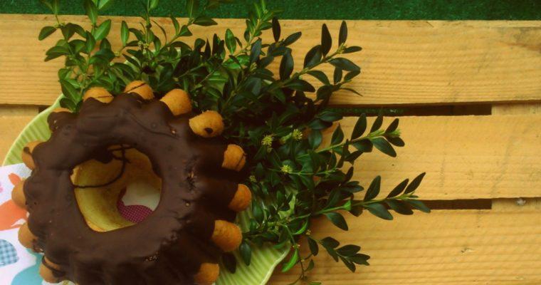Wielkanocna babka z migdałami