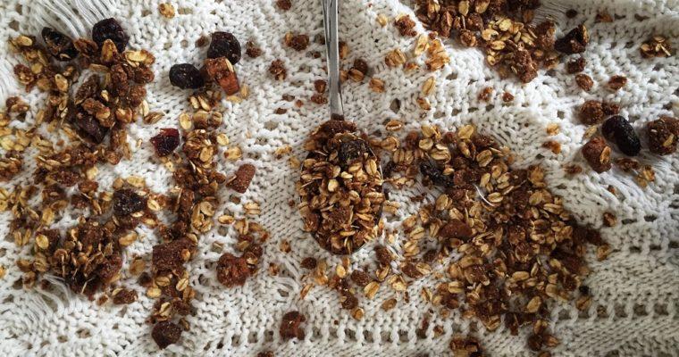 Domowa granola gryczano-kawowa