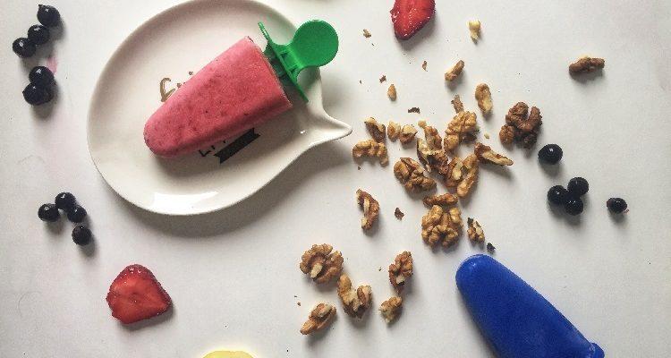 Przepis na domowe lody truskawkowe